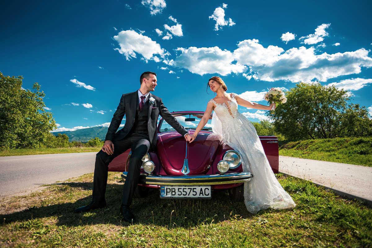 Моменти от сватбата на Д&Н. Сватбена фотография от професионален фотограф Иван Банчев.