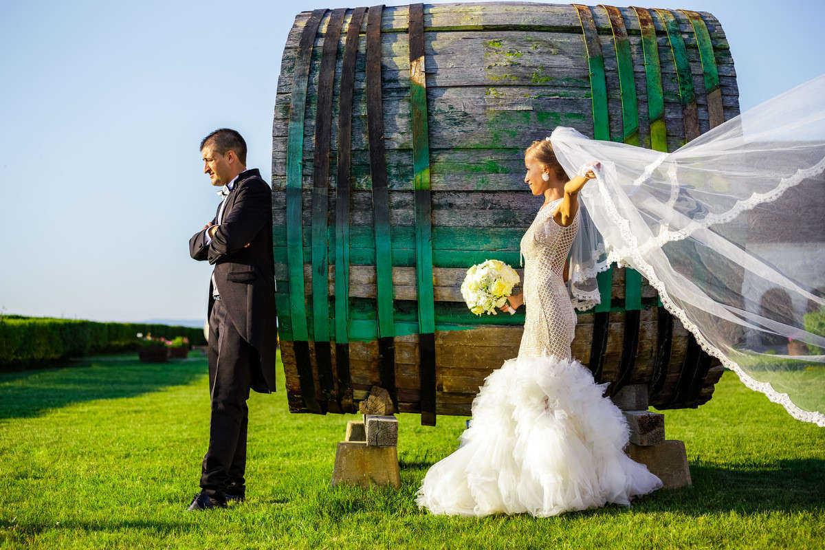 Моменти от сватбата на Р&П. Сватбена фотография от добър професионален фотограф Иван Банчев.
