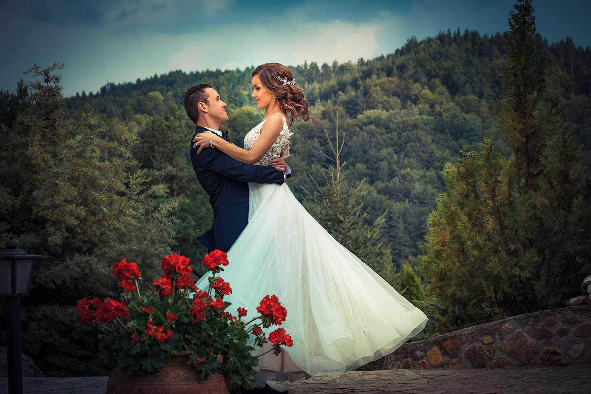 Моменти от сватбени фото сесии