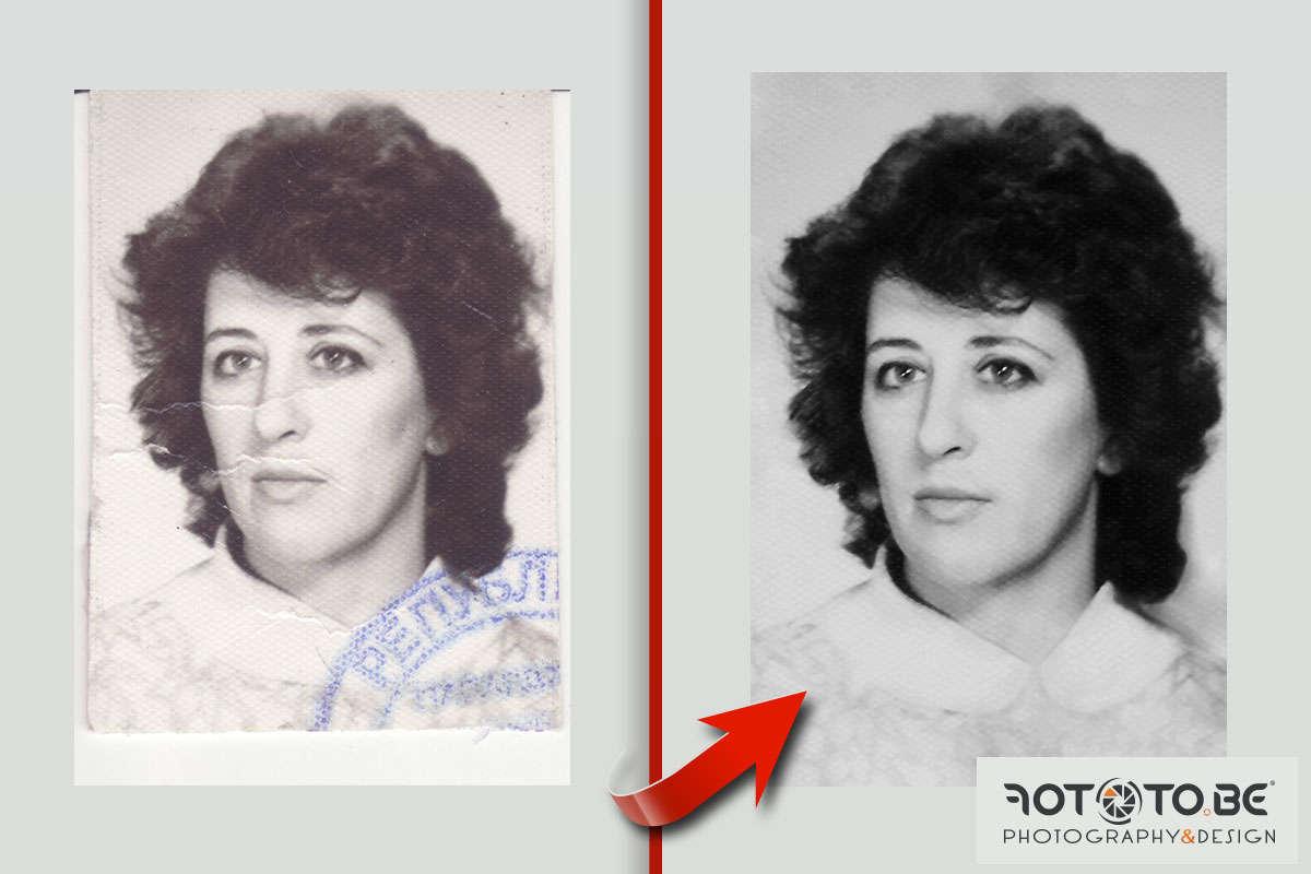 Реставрация на снимки. Професионална реставрация и корекция на повредени снимки. Иван Банчев фотография.